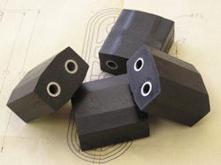 cast urethane rubber-mouldings