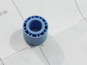 rubber insulator manufacture