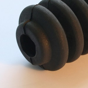 Rubber moulded bellows
